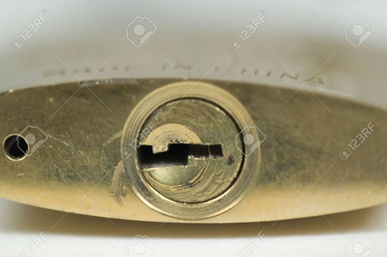 padlock close-up Stock Photo - 626521