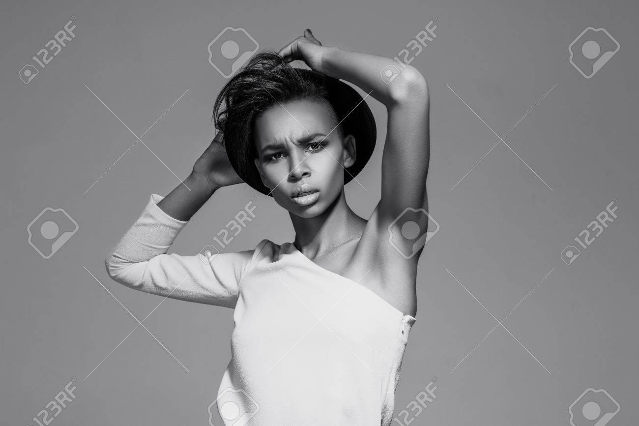 Sexy black girls upskirt