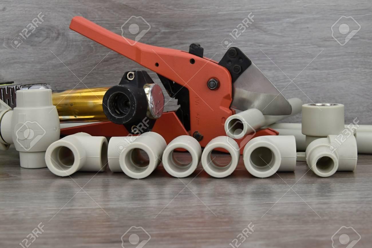 Kunststoffrohr Schweisser Komponenten Die Wasserrohre Und Spezielle