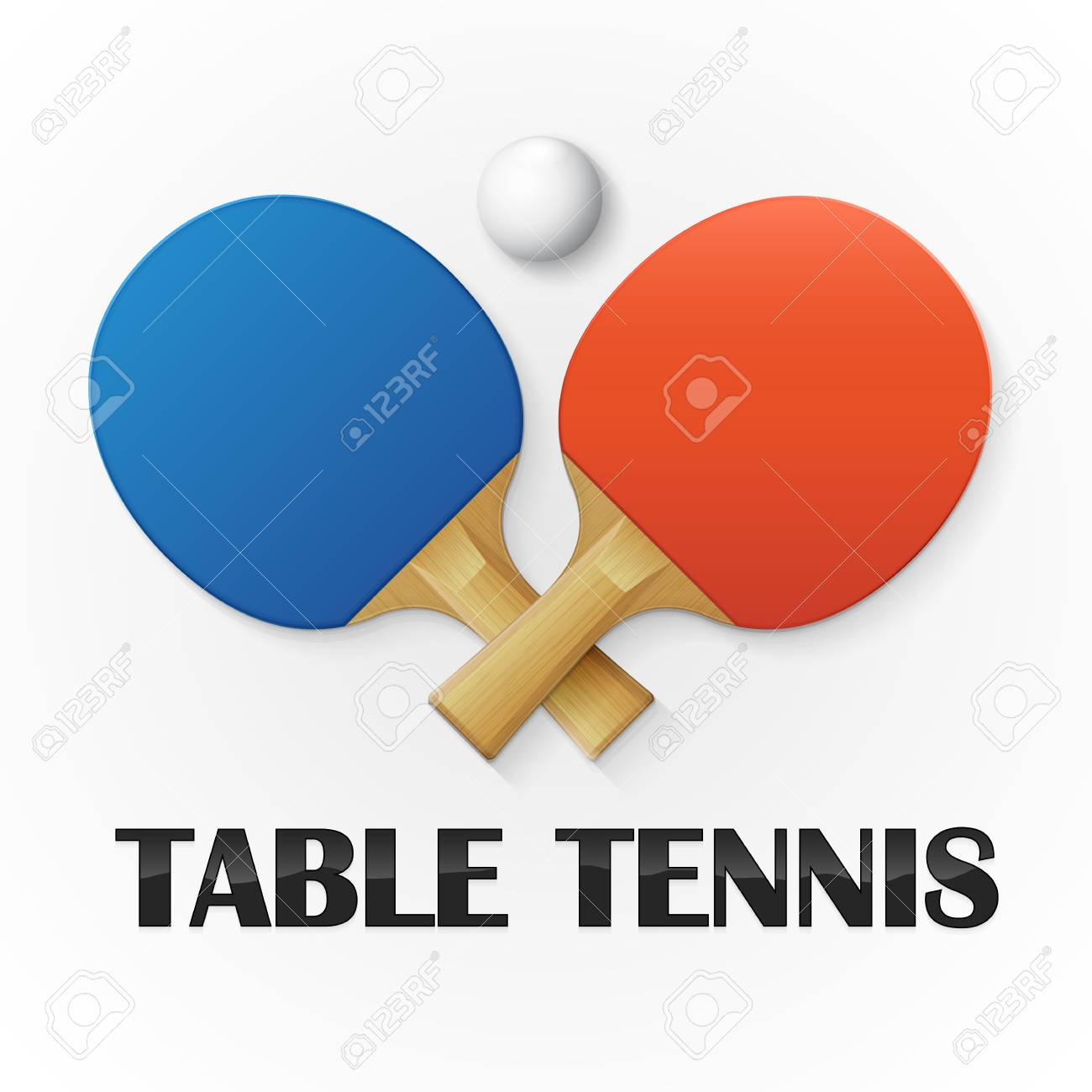 Table tennis background. Vector illustration - 85114541