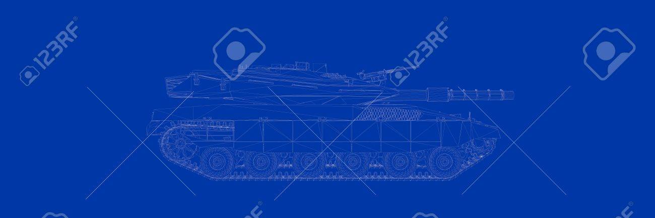 3d rendering of a tank on a blue background blueprint stock photo 3d rendering of a tank on a blue background blueprint stock photo 81427751 malvernweather Gallery