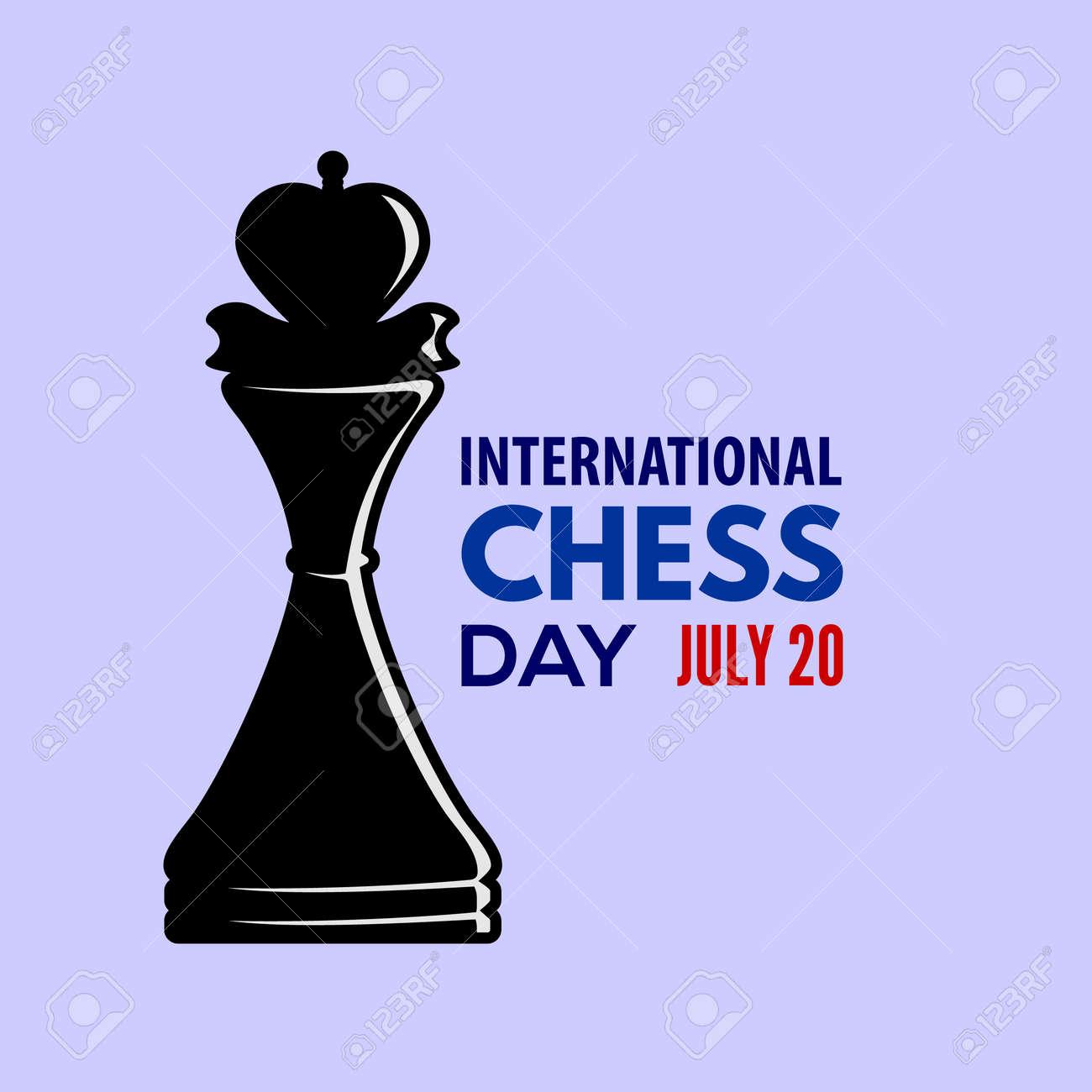 International Chess Day poster or banner design - 170170797