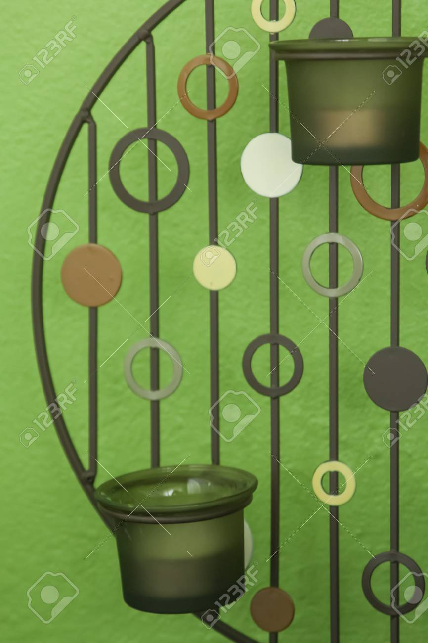 The Modern Candle Holder For Spa Or Home Decor Stock Photo Picture And Royalty Free Image Image 21580370
