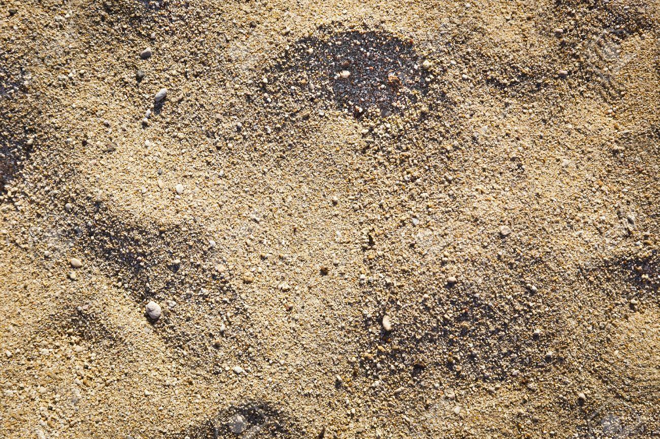 Hot Beige Beach Sand Texture Background Standard Bild