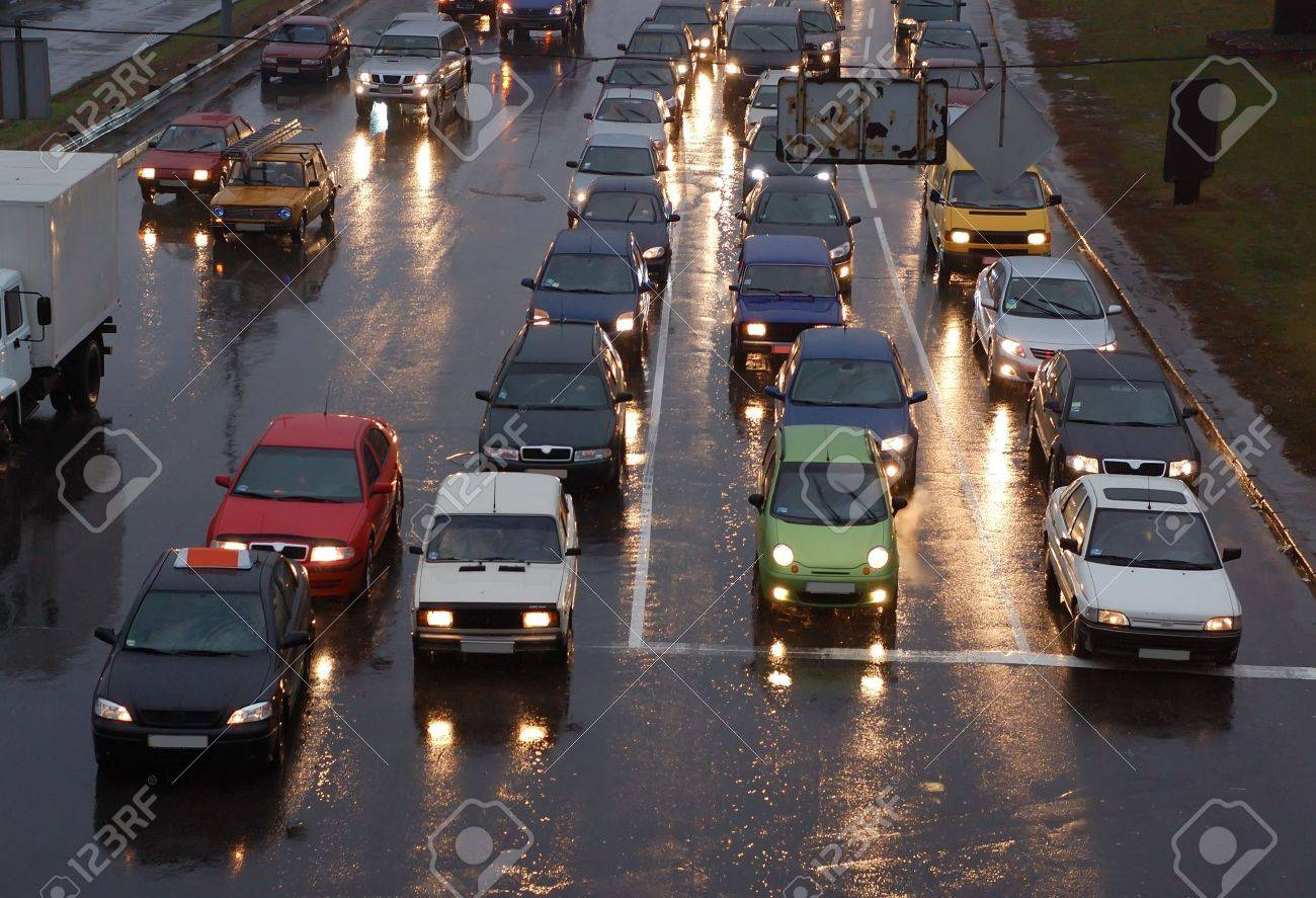 Evening traffic - 2073800