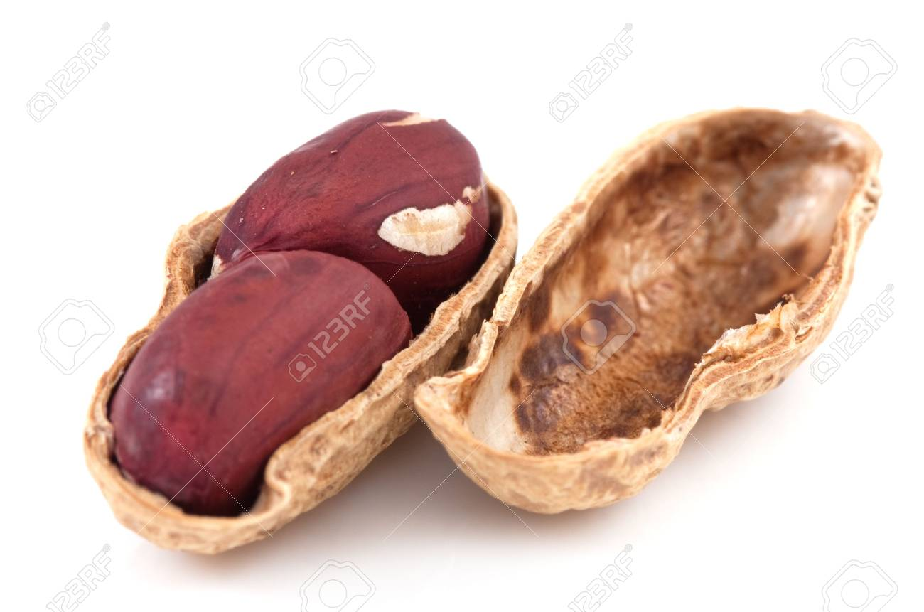 Pistachios isolated on a white background Stock Photo - 6649920