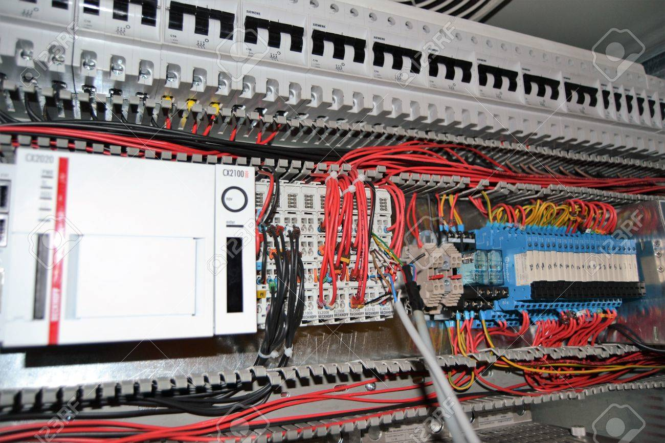 Plc Stock Photos Royalty Free Images Panel Wiring Get Image About Diagram Dc Motor Forward And Reverse Operation Automation Engine Control Motors