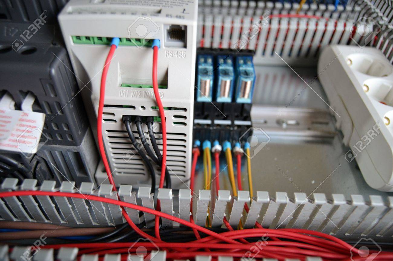 Industrial Automation Plc Panels Plc Modules Panel Manufacturing Stock Photo Picture And Royalty Free Image Image 71613608