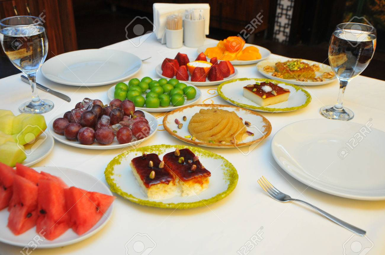 Restaurant Food Fruit Plate Restaurant Table Fruit Plate Stock Photo Picture And Royalty Free Image Image 80012788