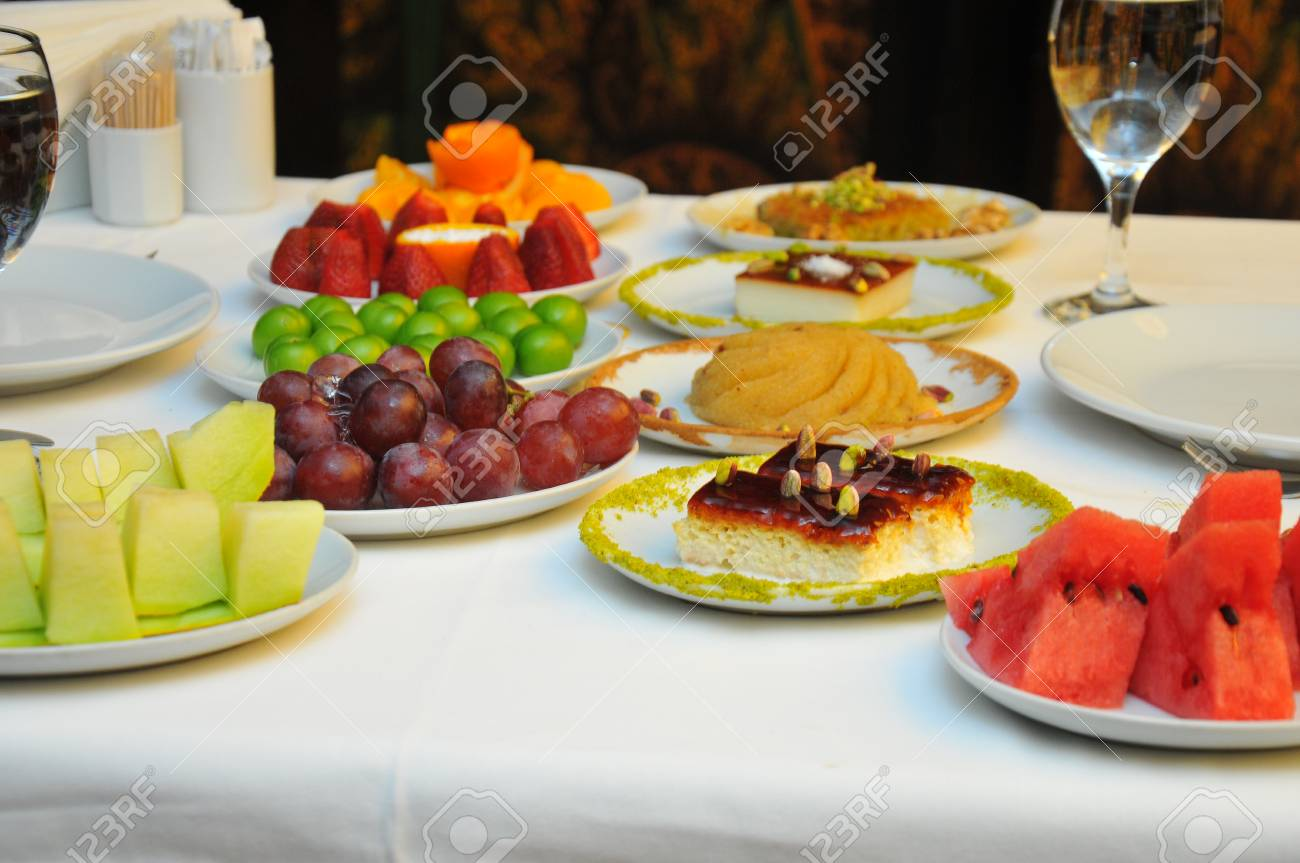 Restaurant Food Fruit Plate Restaurant Table Fruit Plate Stock Photo Picture And Royalty Free Image Image 79747128
