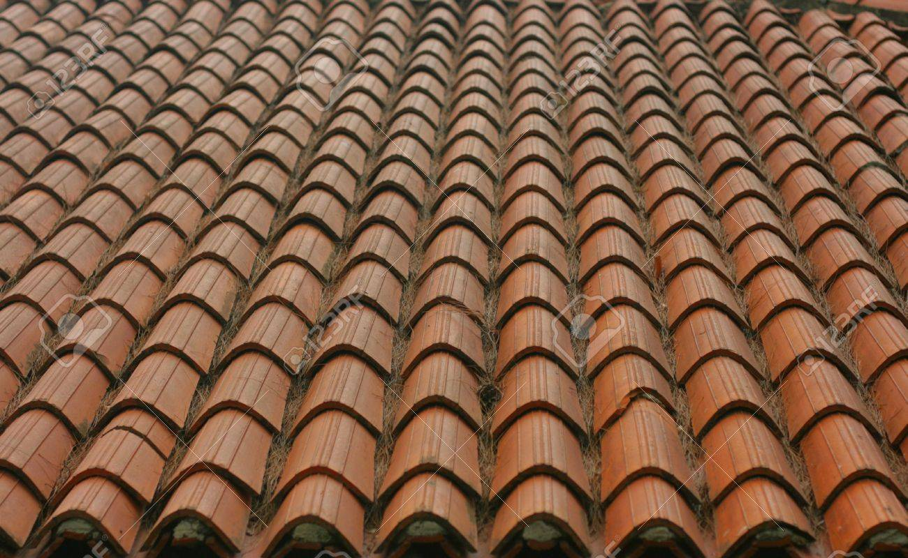 Ceramic tile roof stock photo picture and royalty free image ceramic tile roof stock photo 4896484 dailygadgetfo Choice Image