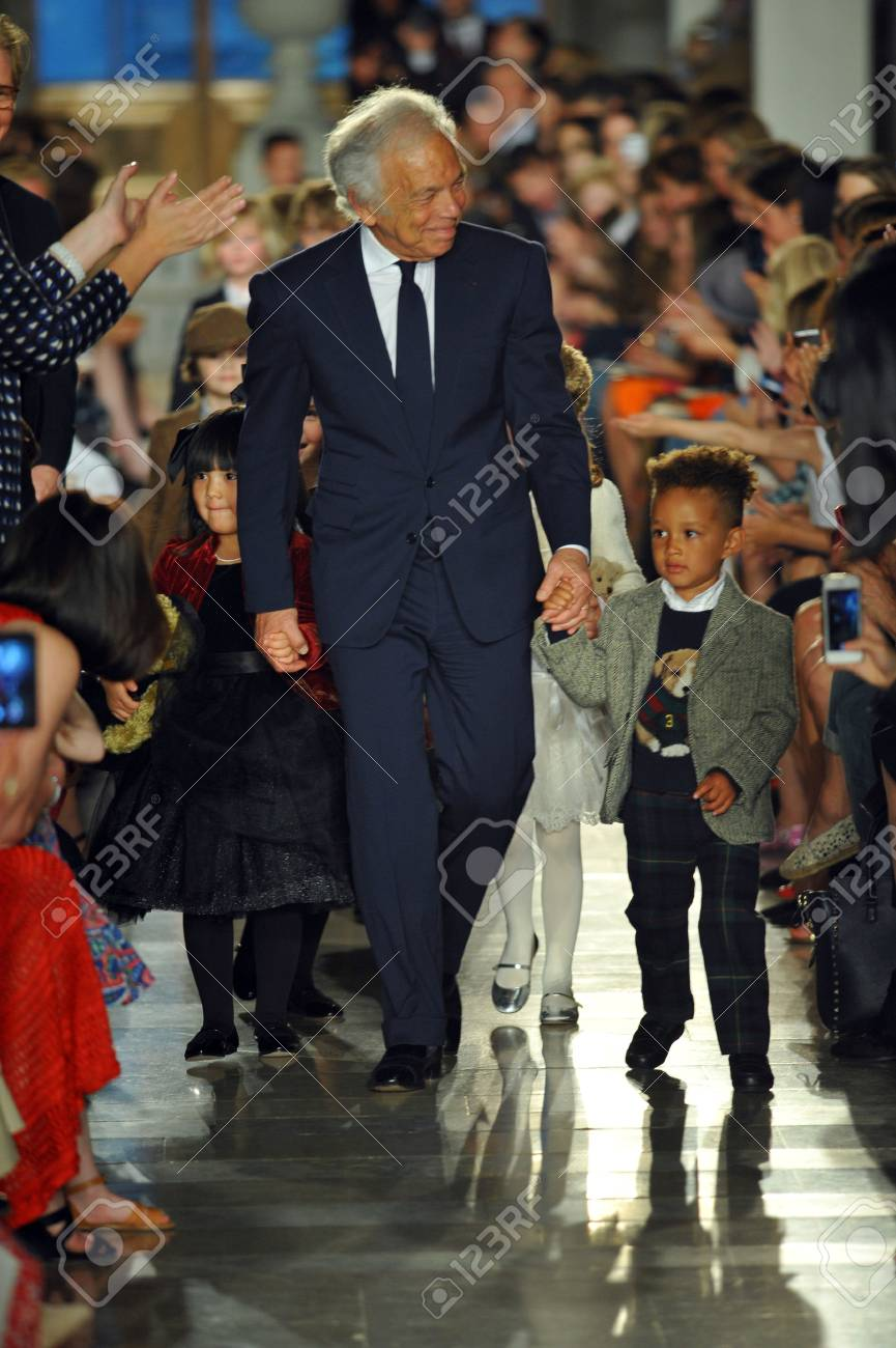 New York Ny May 19 Designer Ralph Lauren Walks The Runway Stock Photo Picture And Royalty Free Image Image 28535707