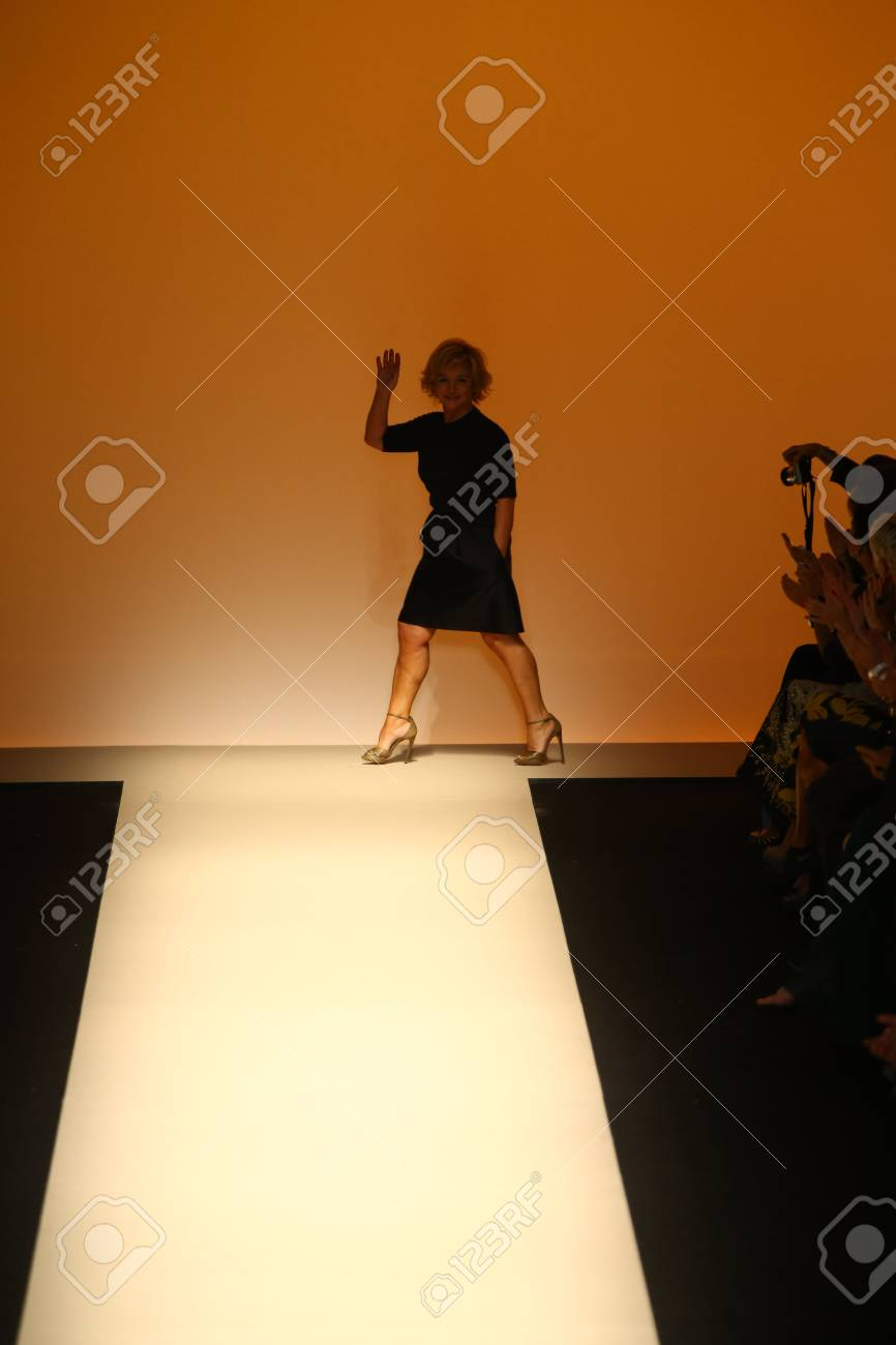 Milan Italy September 17 Fashion Designer Alberta Ferretti Stock Photo Picture And Royalty Free Image Image 31793577