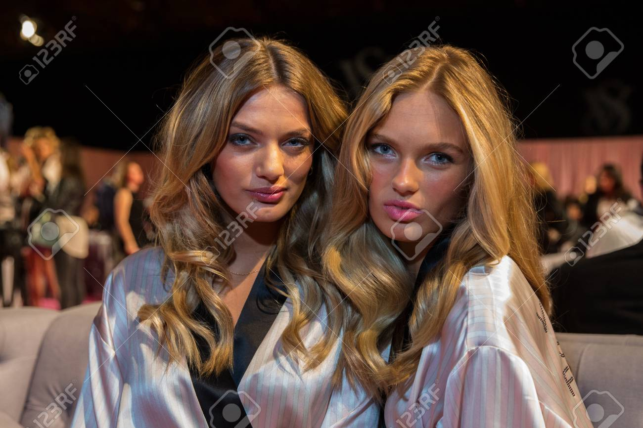London England December 02 Vs Models Bregje Heinen And Romee Stock Photo Picture And Royalty Free Image Image 34547599