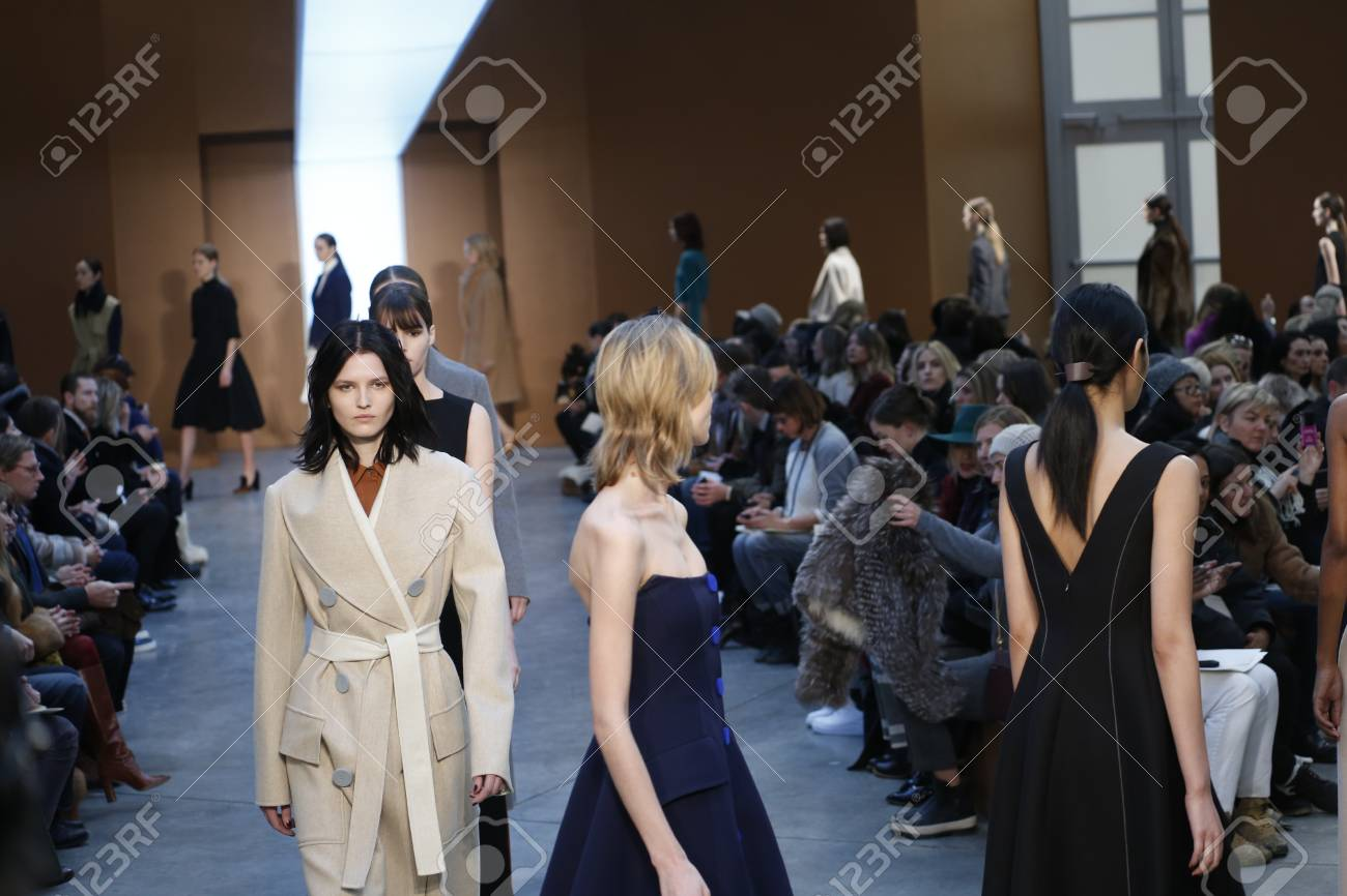dress - Fall lam derek runway video
