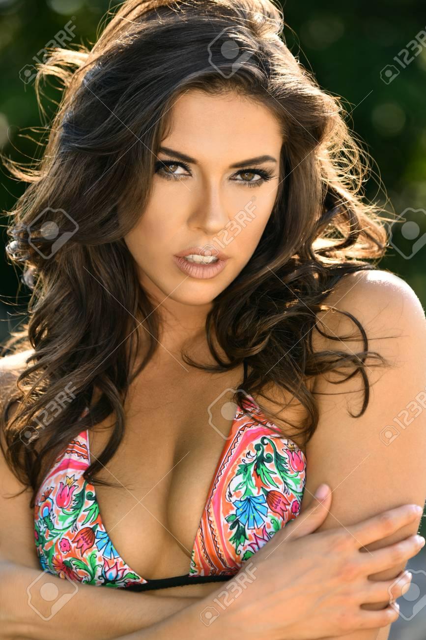Bikini gorgeous model