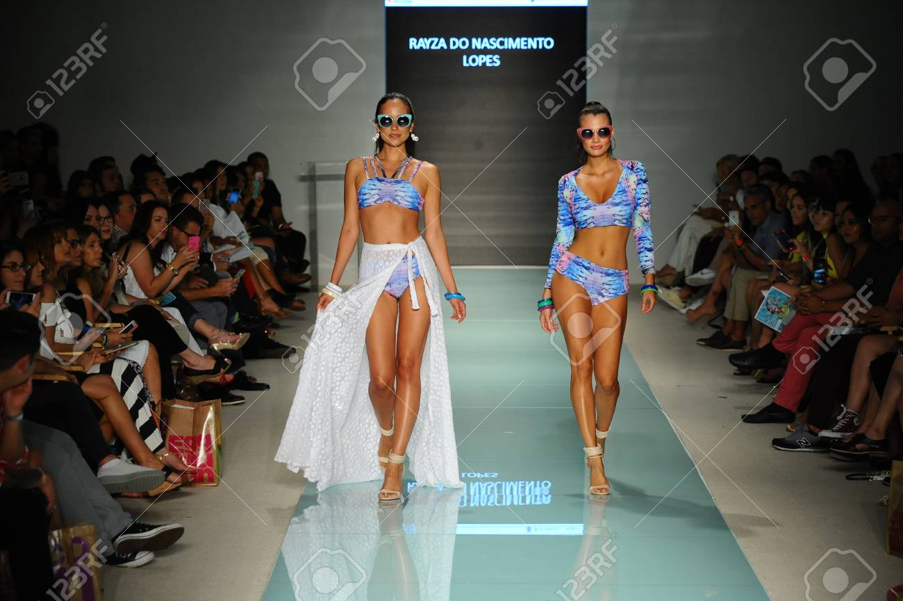 Miami Fl July 20 Models Walk The Runway During The Miami Stock Photo Picture And Royalty Free Image Image 83451685