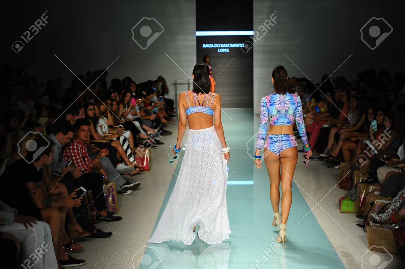 Miami Fl July 20 Models Walk The Runway During The Miami Stock Photo Picture And Royalty Free Image Image 83511860