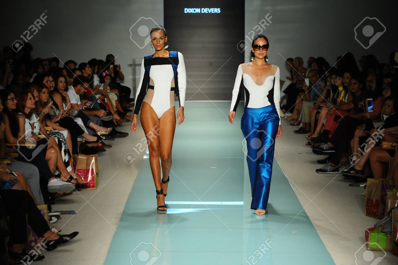 Miami Fl July 20 Models Walk The Runway During The Miami Stock Photo Picture And Royalty Free Image Image 83577340