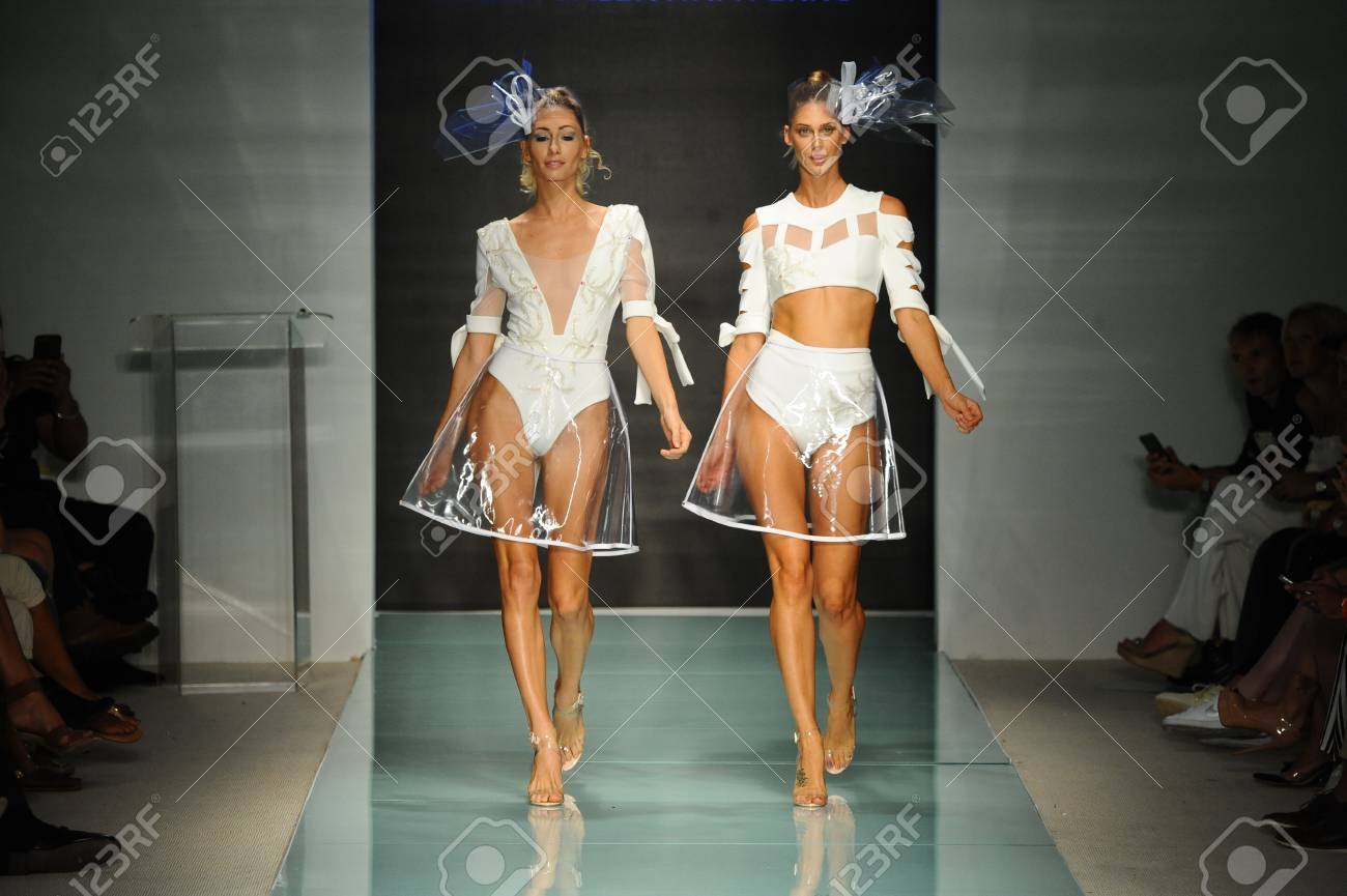 Miami Fl July 20 Models Walk The Runway During The Miami Stock Photo Picture And Royalty Free Image Image 83577385