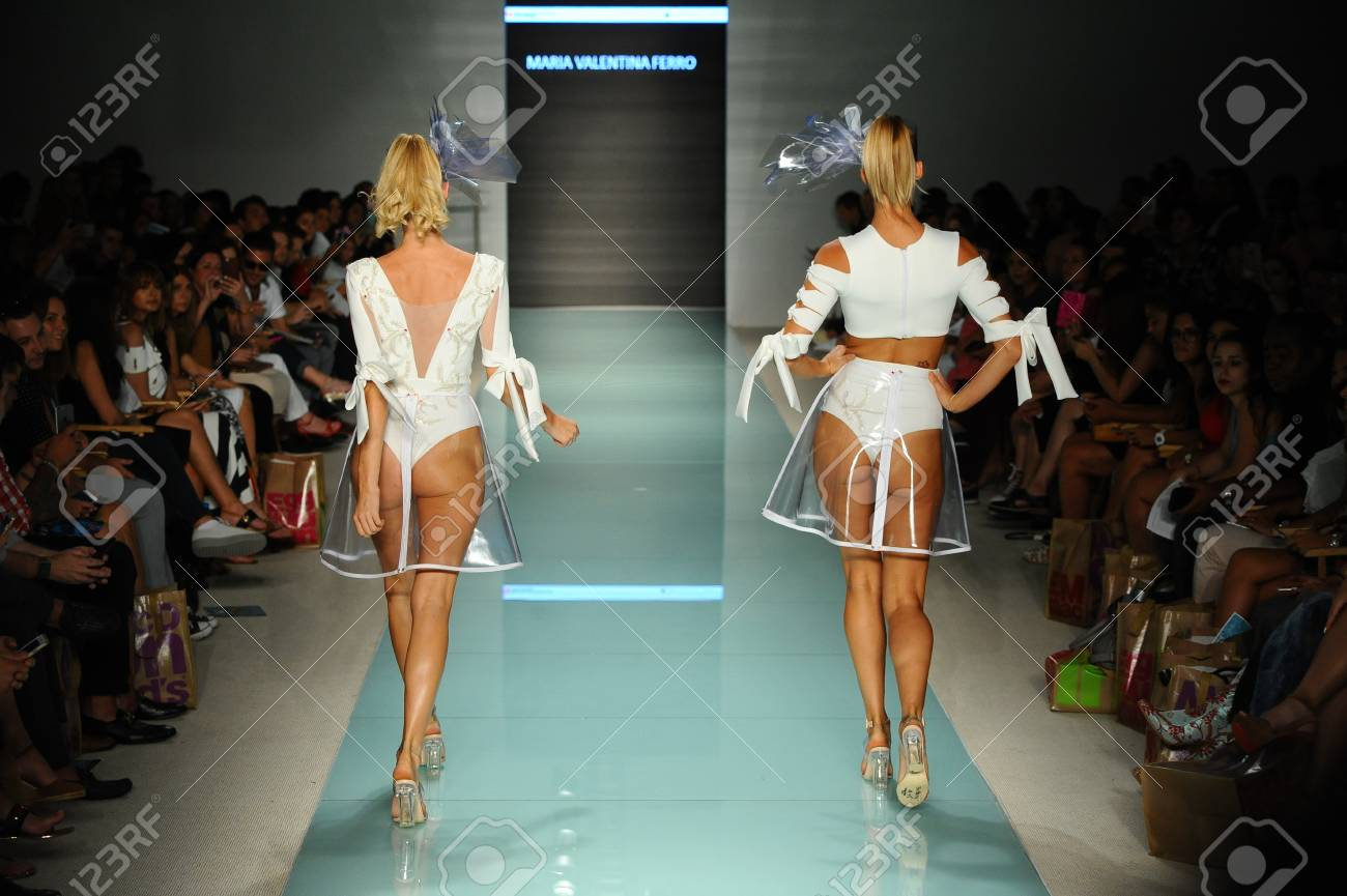 Miami Fl July 20 Models Walk The Runway During The Miami Stock Photo Picture And Royalty Free Image Image 83450995