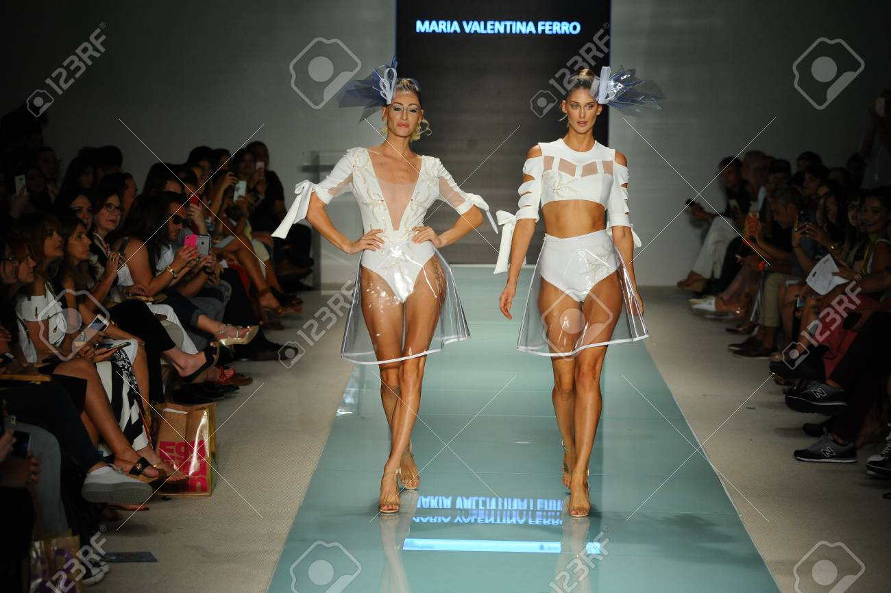 Miami Fl July 20 Models Walk The Runway During The Miami Stock Photo Picture And Royalty Free Image Image 83450783