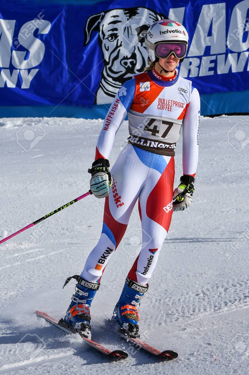 Aline Videos killington, vt - november 24: aline danioth of sui in the finish..