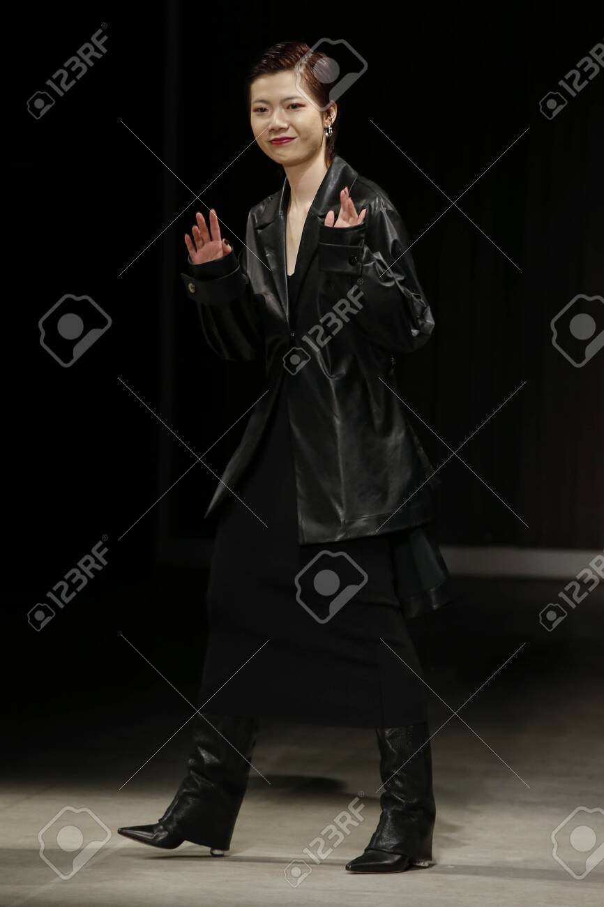 Milan Italy February 20 Fashion Designer Rico Manchit Au Stock Photo Picture And Royalty Free Image Image 120682738