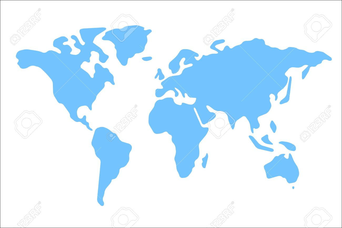 World map vector illustration world map on white background world map vector illustration world map on white background world map on isolated background sciox Image collections