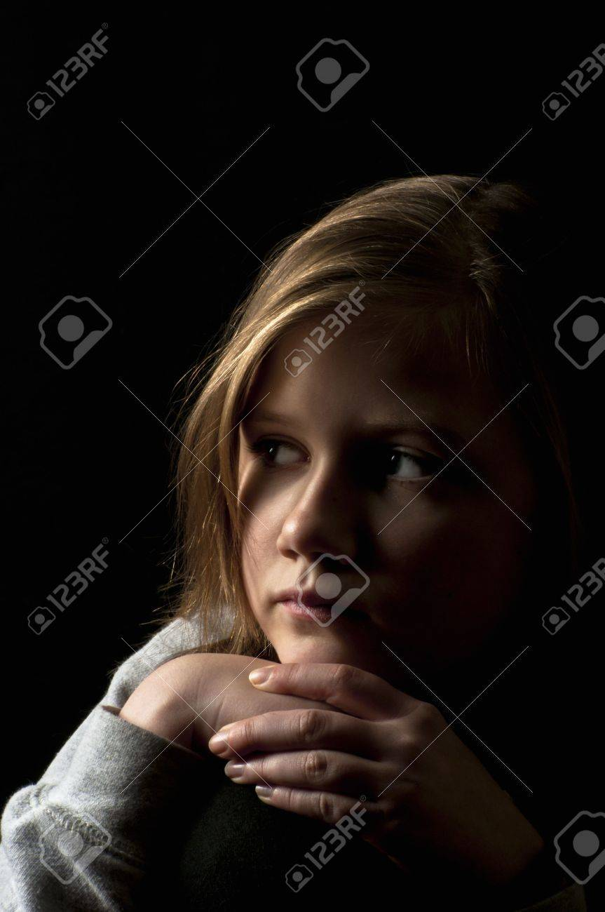 Victim of cyber bullying Stock Photo - 18299587