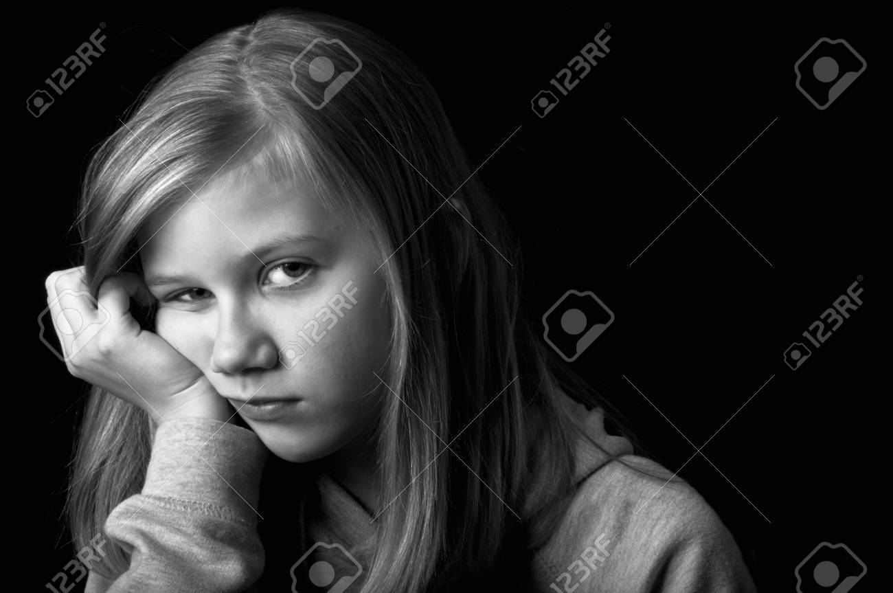 Sad teenager Stock Photo - 18693166
