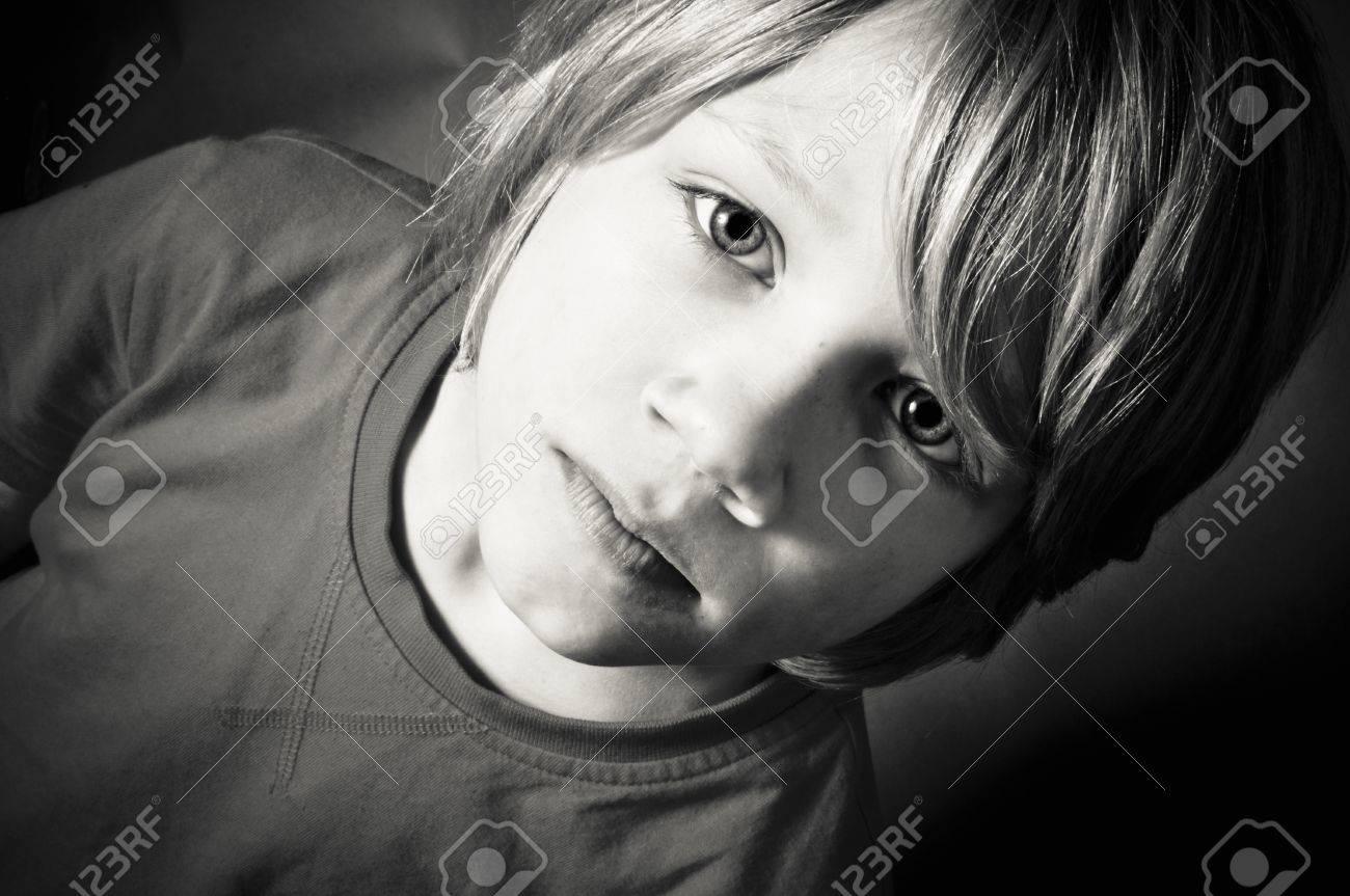 Vulnerable boy Stock Photo - 20895177