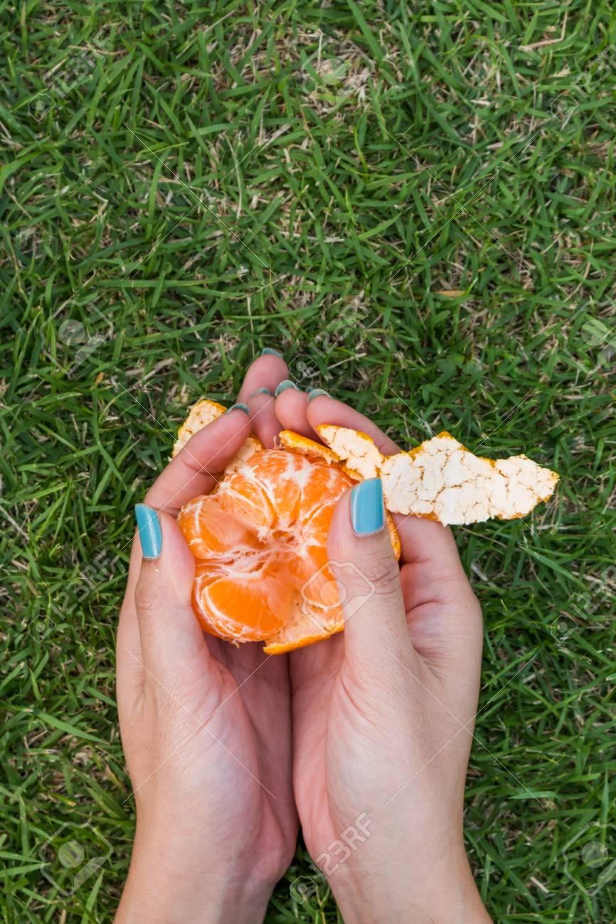 Lujo Uñas De Giro De Naranja Friso - Ideas Para Esmaltes - aroson.com