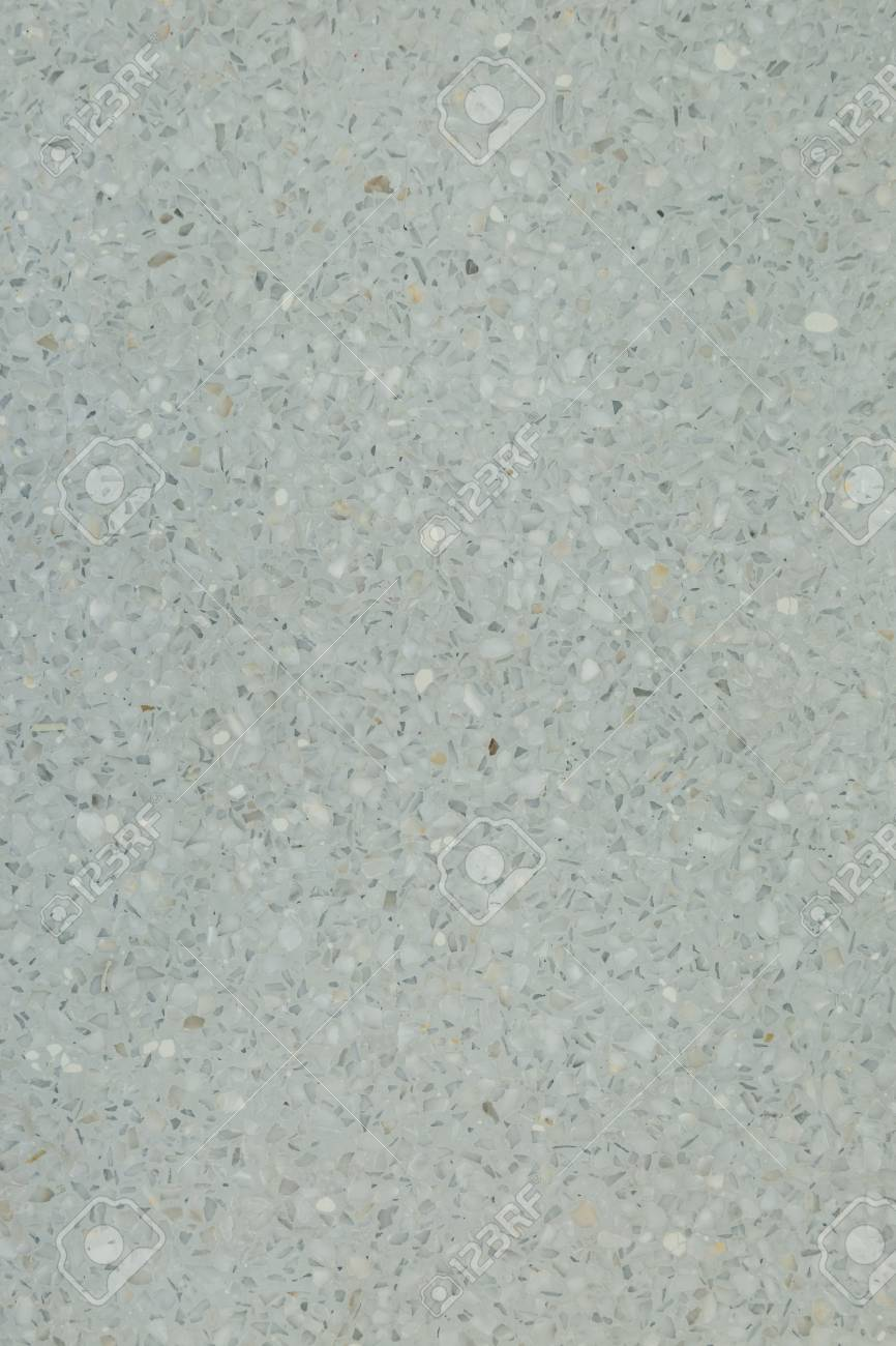 White Terrazzo Flooring Use For Background Stock Photo Picture And