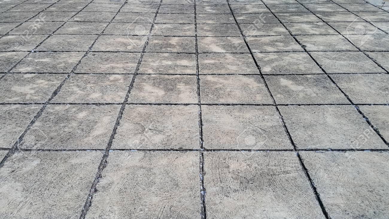 Bodenfliesen Zement Strasse Hintergrund Lizenzfreie Fotos Bilder Und