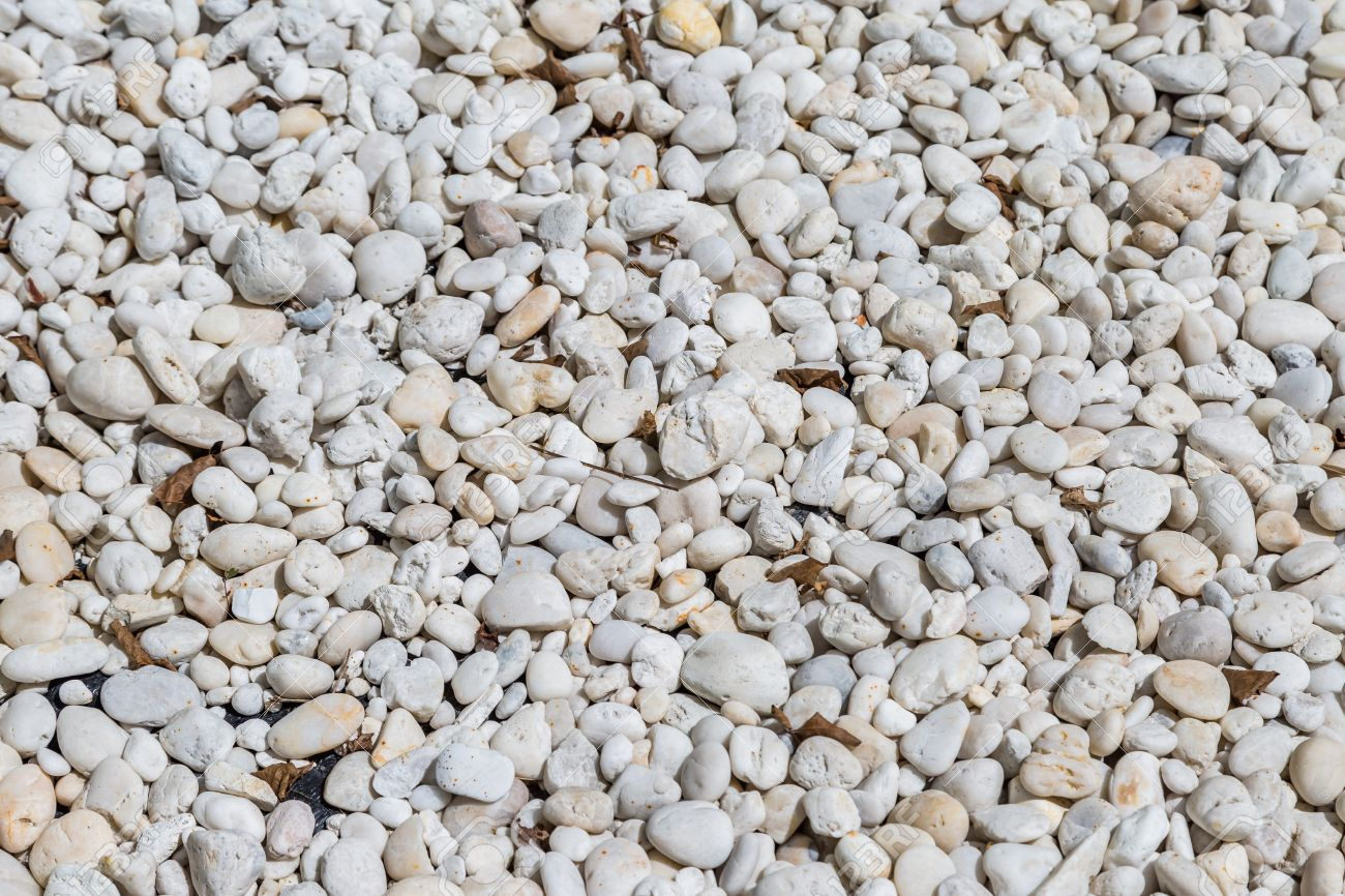 natural polished white river rock pebbles background Stock Photo - 45326951 357b233a4