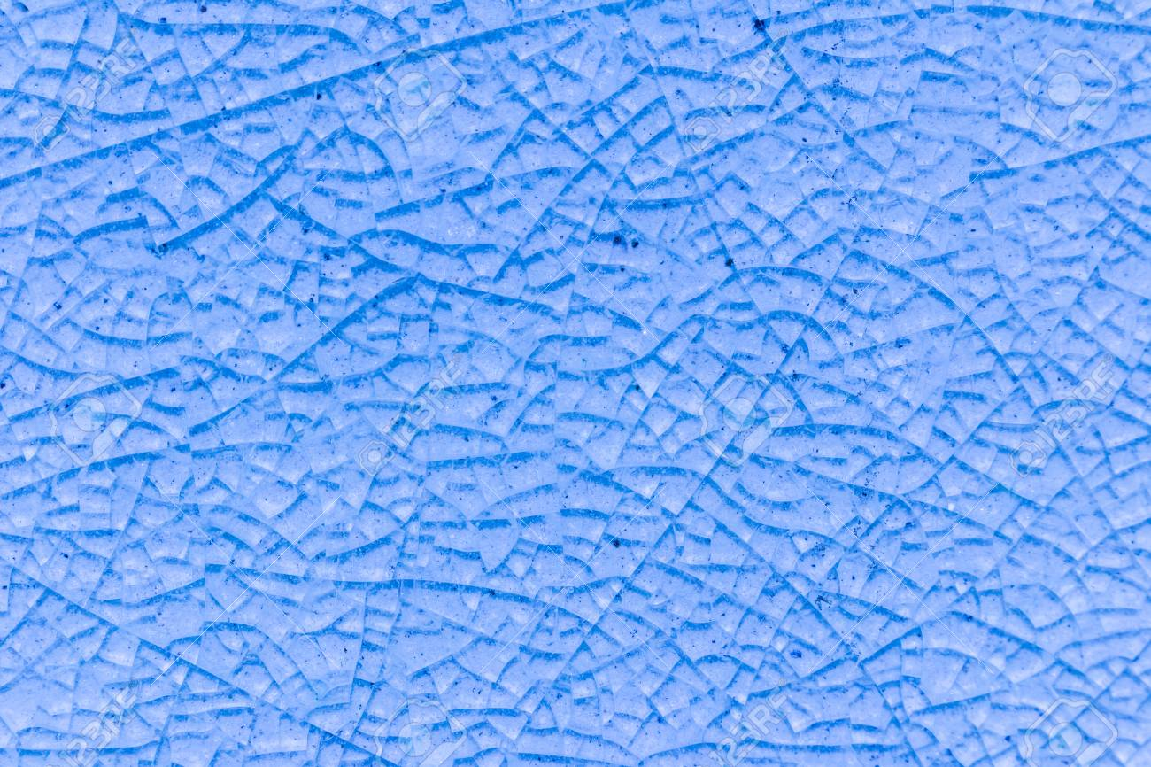 Abstract Of Blue Crack Ceramic Tile ,glazed Tile Texture Background ...