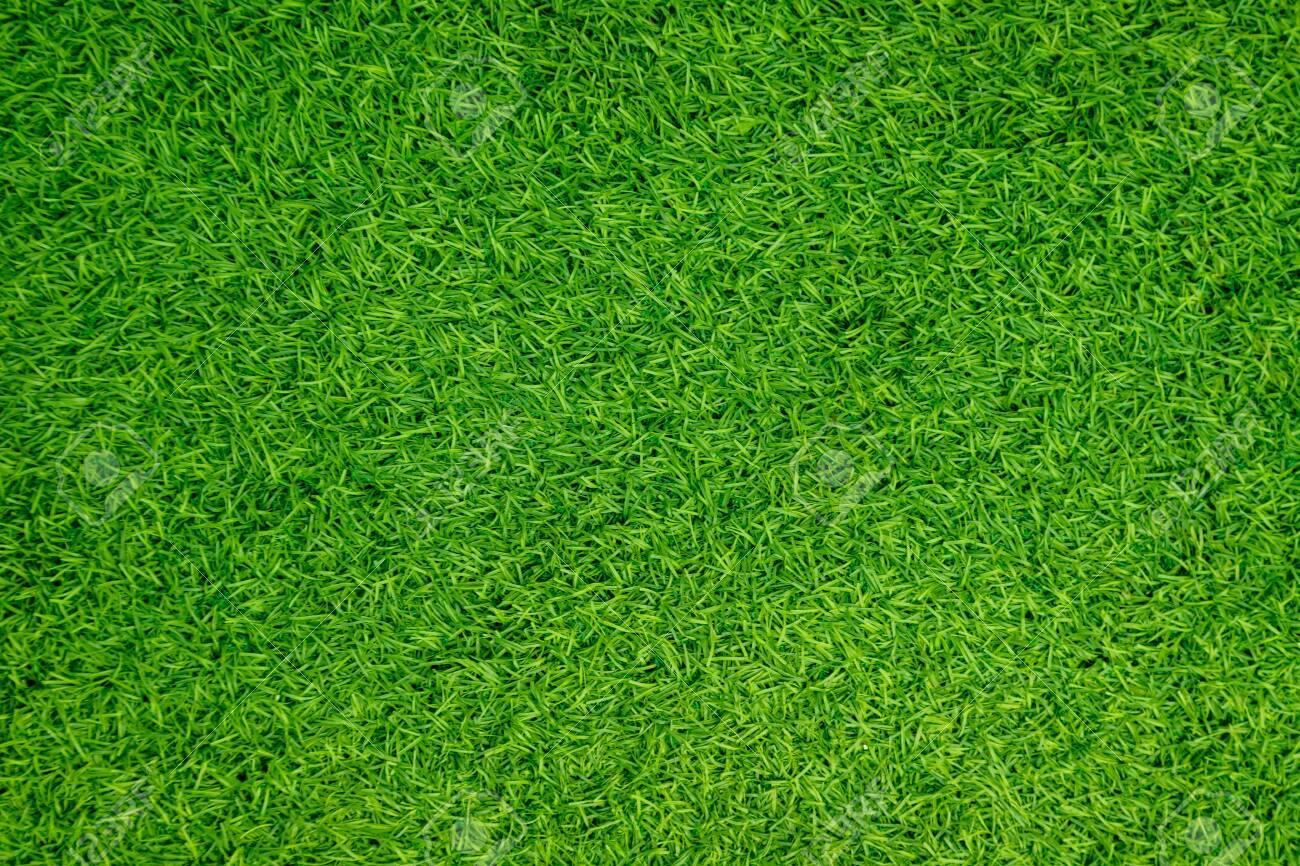 Green artificial grass natural - 147256155