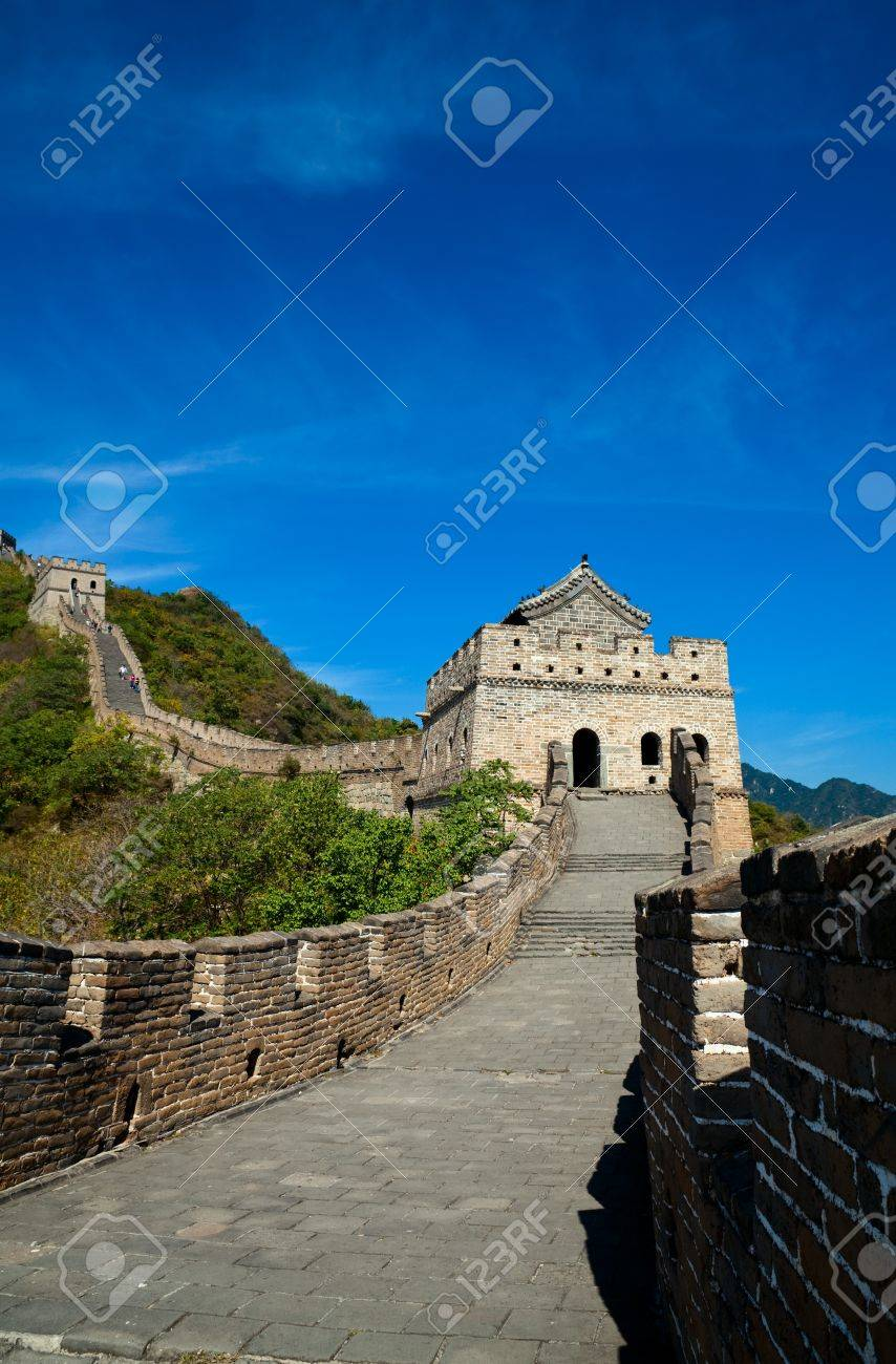Front shoot of the Great Wall Stock Photo - 9616495