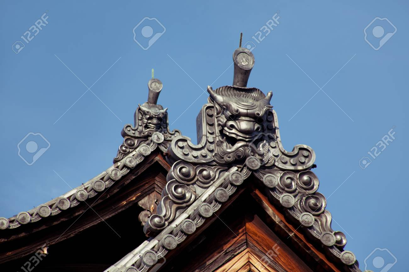 Japan Roof Top Design Stock Photo Picture And Royalty Free Image Image 19494351