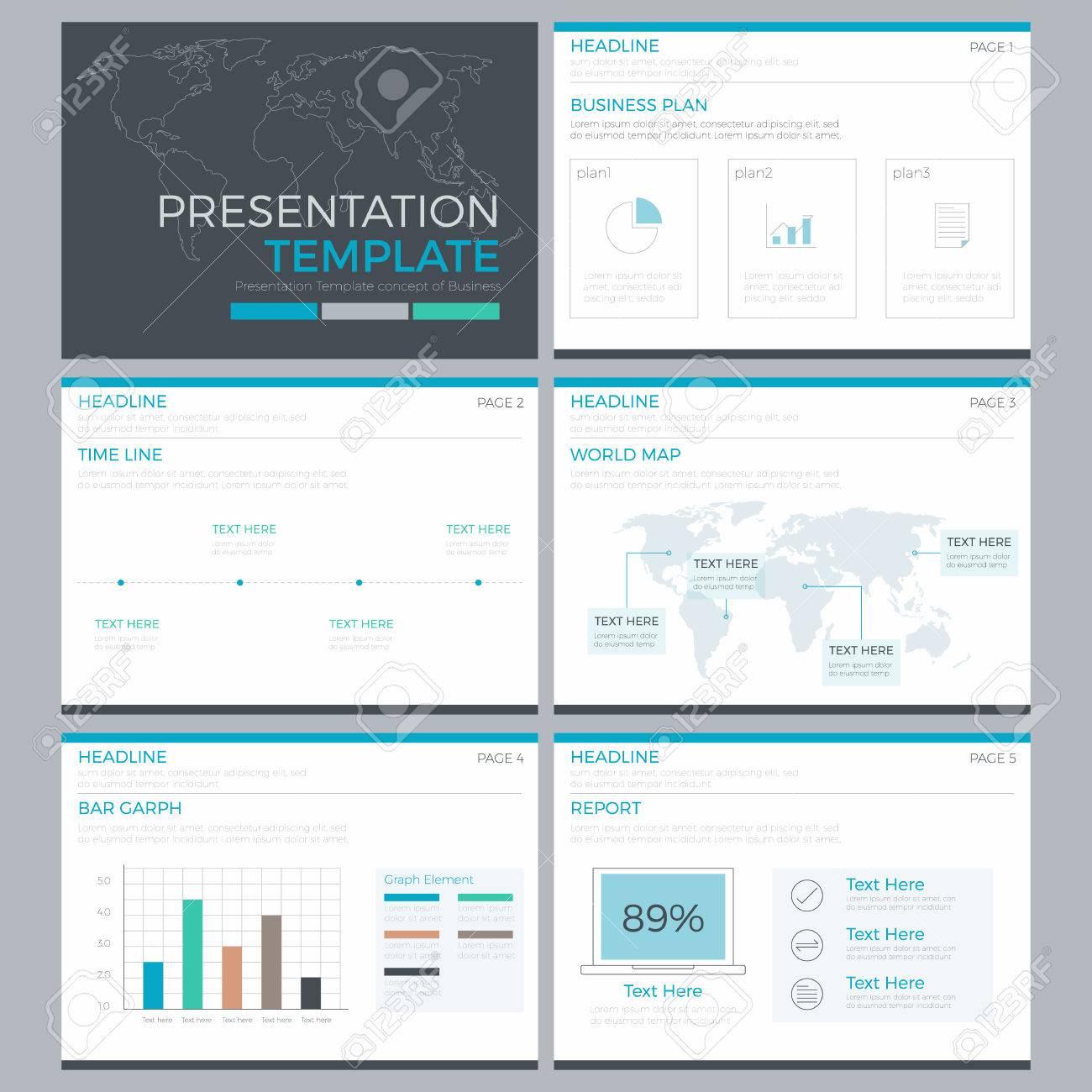 Presentación Infografía Plantilla Power Point Elemento De Diseño ...