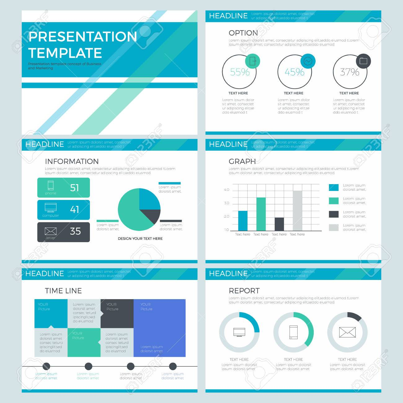 presentation template power point template infographics design