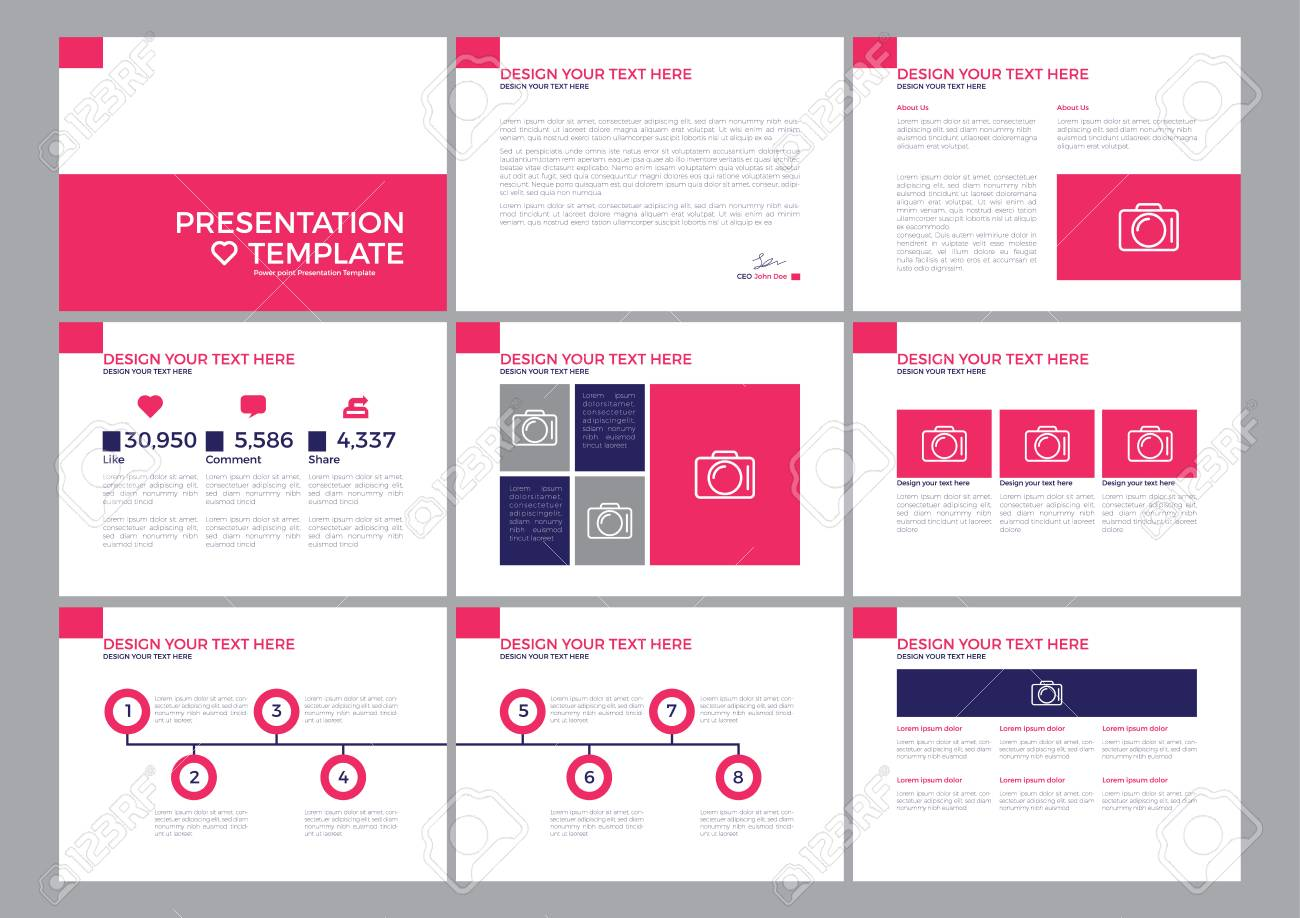 presentation template keynote template design royalty free cliparts