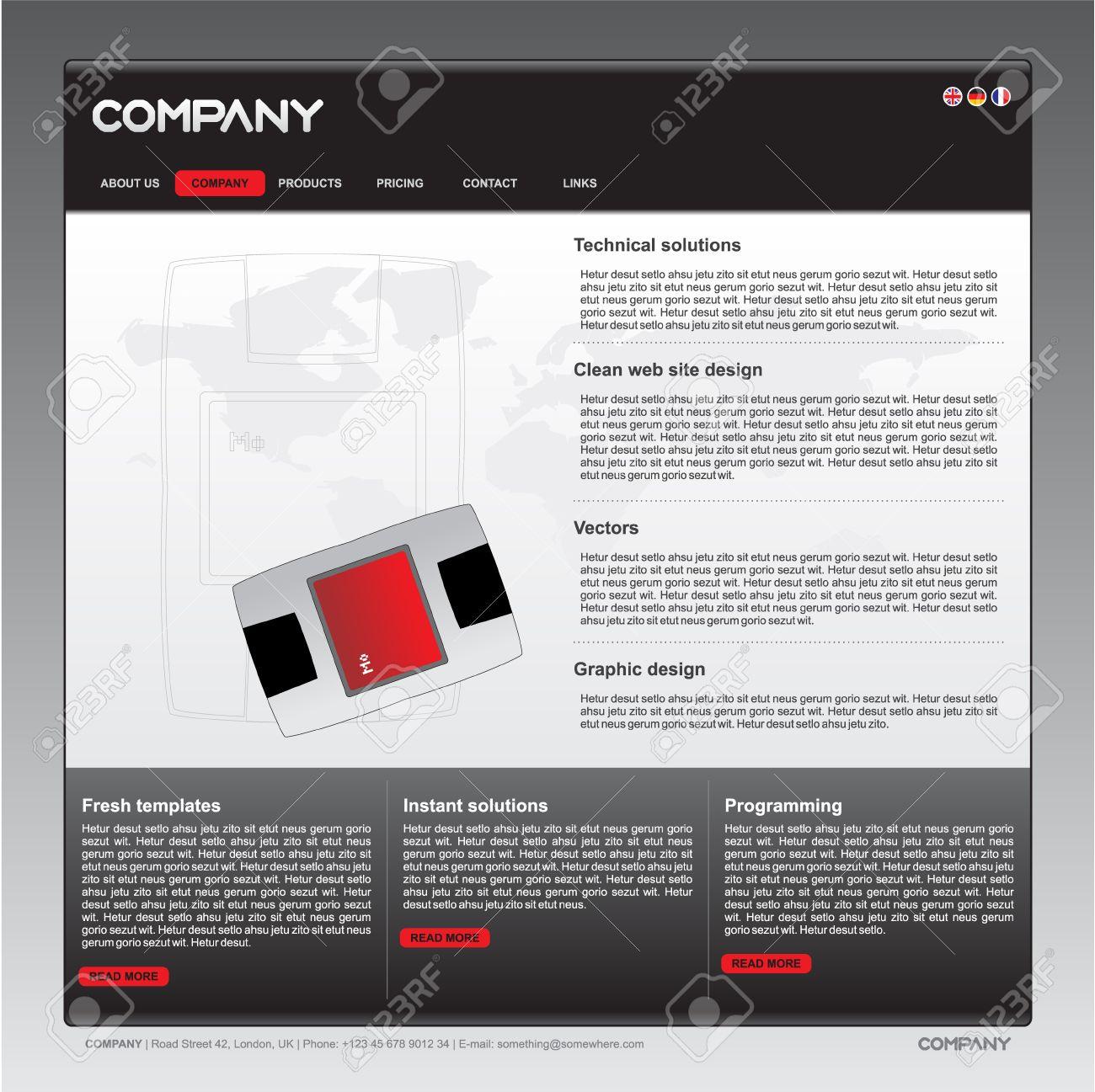 Сайты с черно белого дизайном