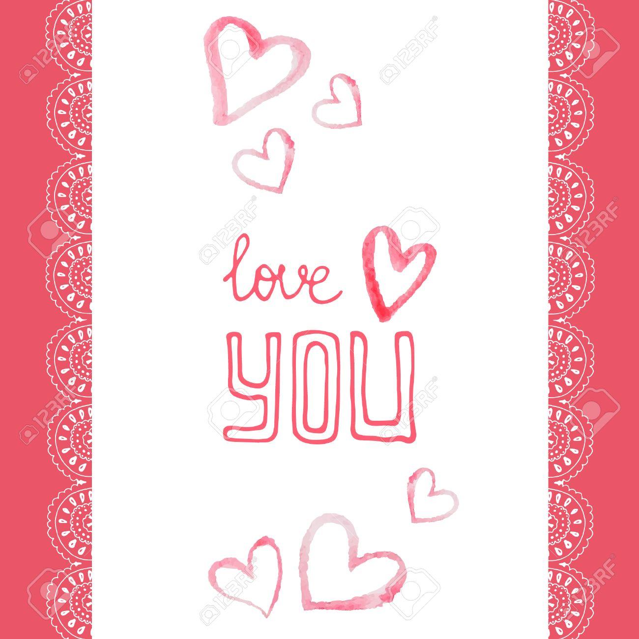 幸せなバレンタインの日や結婚式のカードのデザインです完璧な