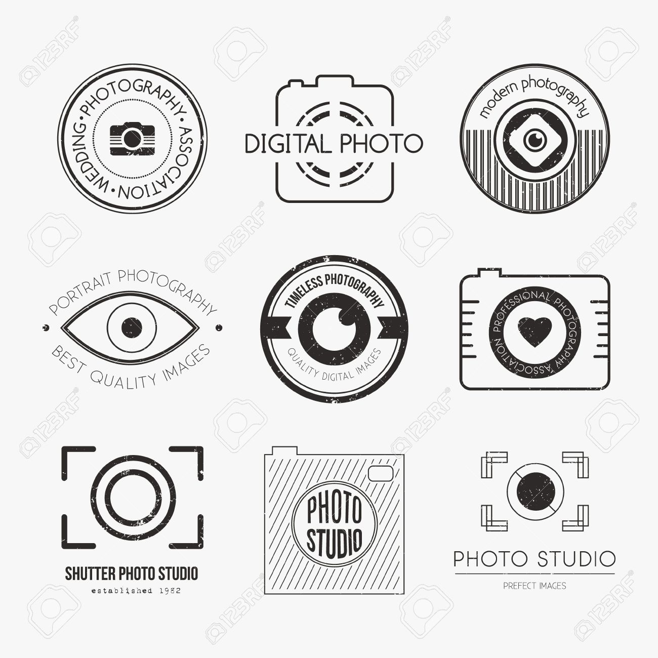 4012 Photography Logo Cliparts Stock Vector And Royalty Free