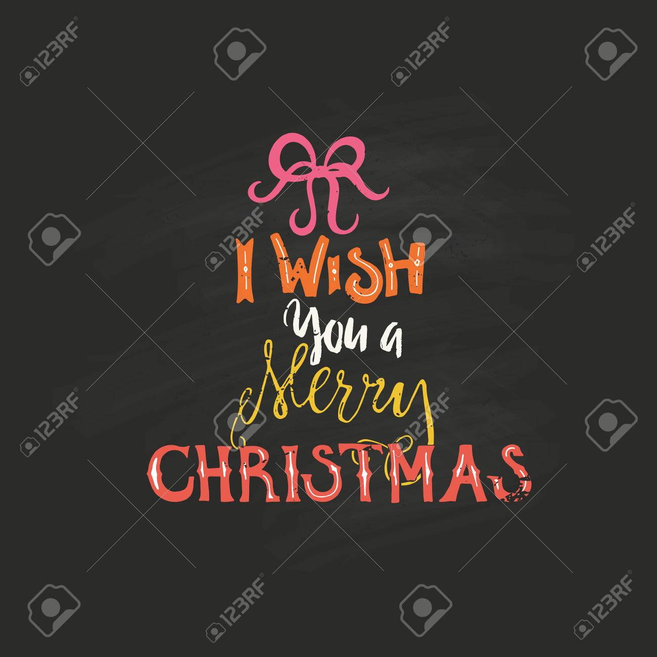 Weihnachtskarten Clipart.Merry Christmas Lettering Vector Clipart For Christmas Cards