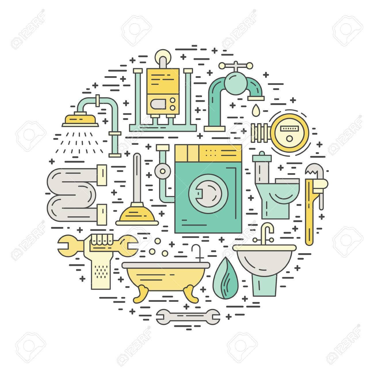 Plumbing Symbols Romeondinez