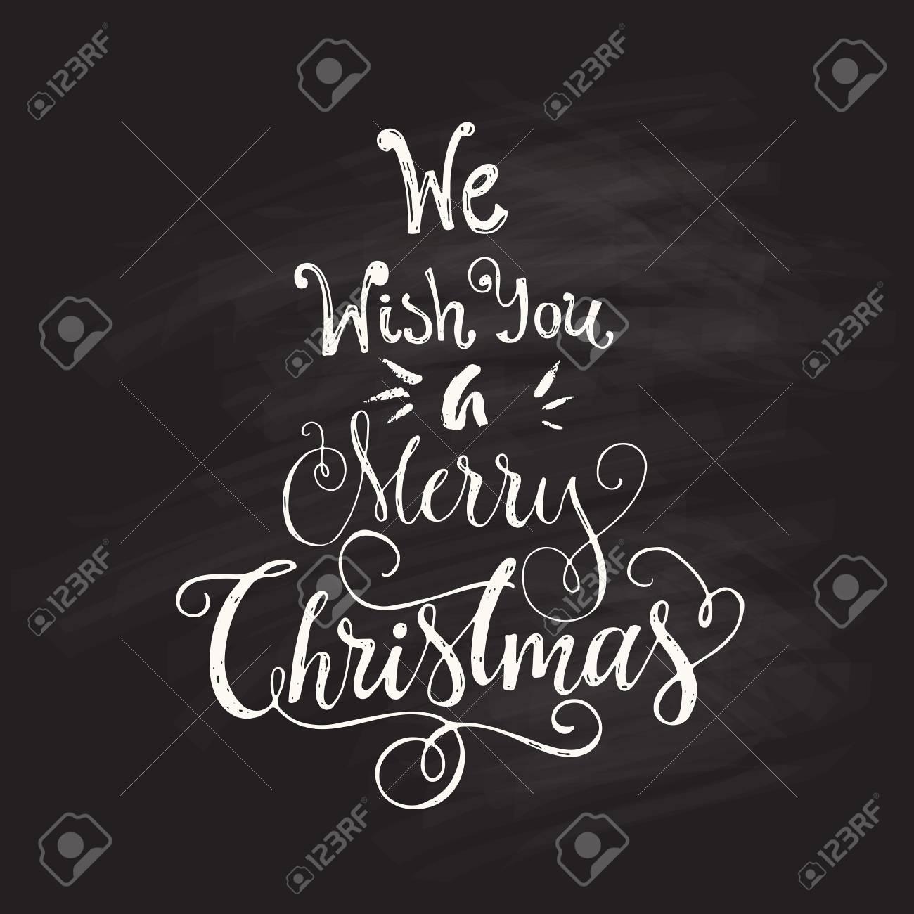 Wir Wünschen Ihnen Frohe Weihnachten - Einzigartiges Handdrawn ...