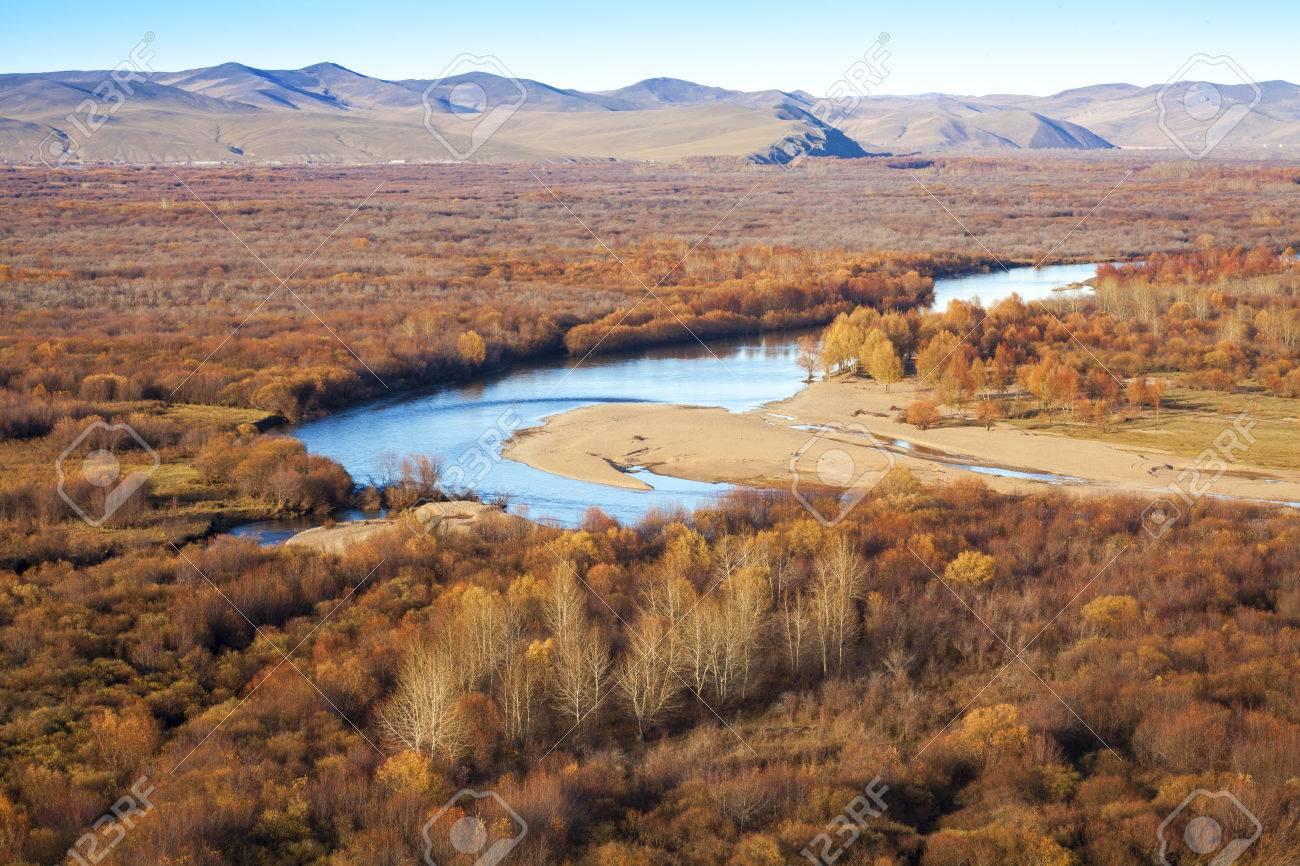 アルグン川湿地帯、内蒙古自治区...